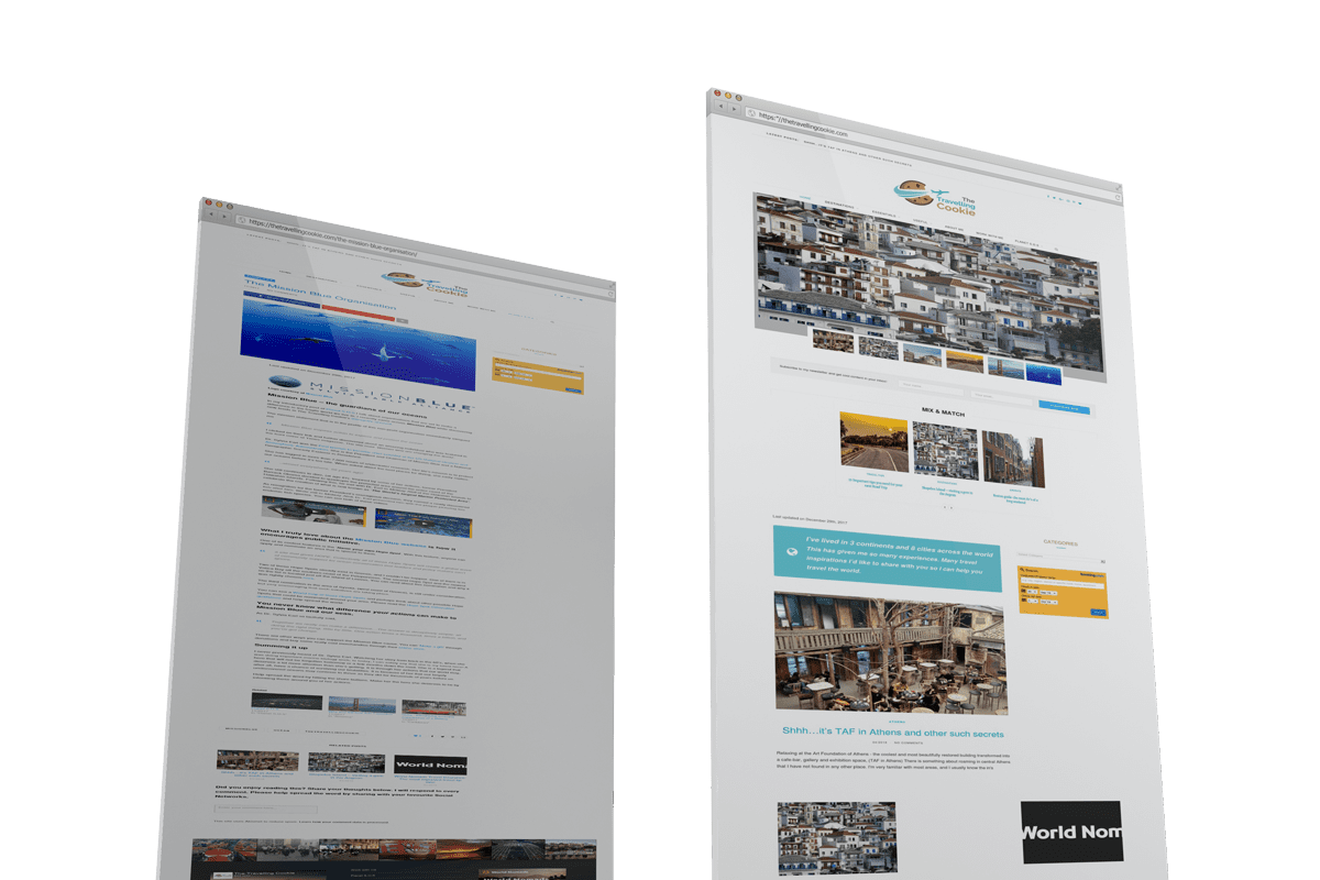 Travel Blog Project of SITEnDESIGN