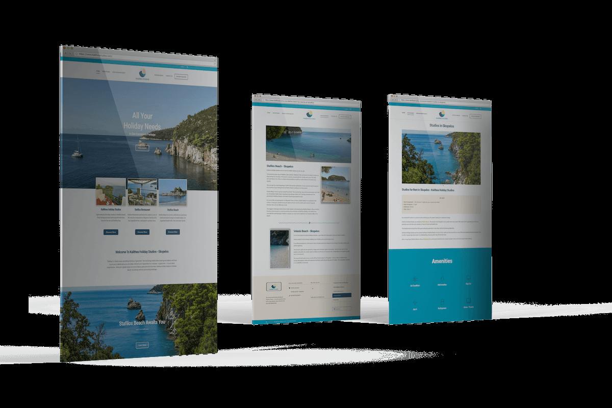 Ιστοσελίδες για Ξενοδοχεία - Kalithea Studios - SITEnDESIGN