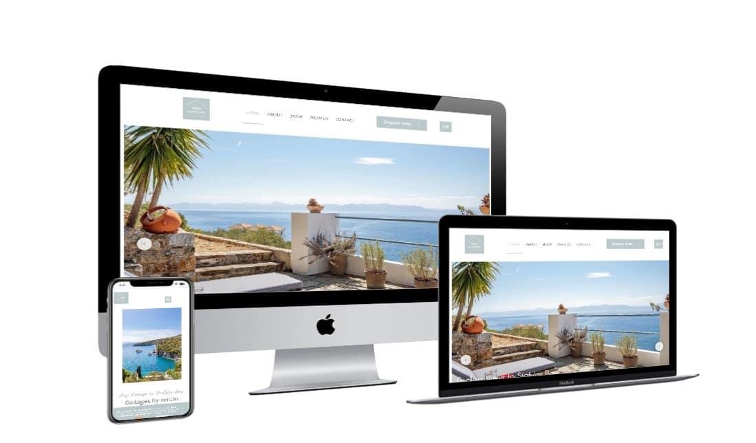 Ιστοσελίδες Ξενοδοχείων - Εξοχικό Πηγή / istoselides-ksenodoxeion-pigi-cottage