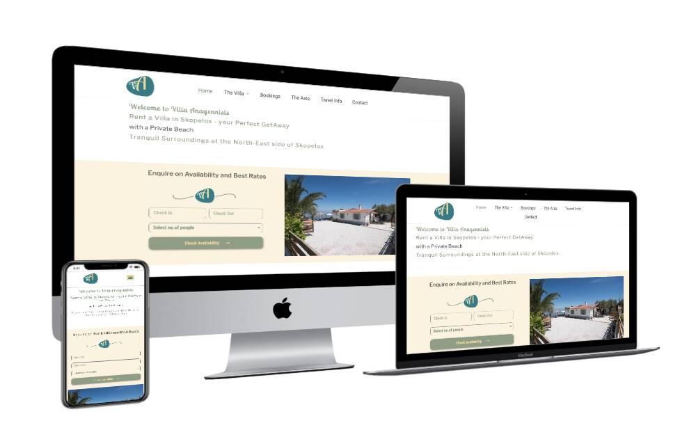 Ιστοσελίδες Ξενοδοχείων - Βίλλα Αναγέννηση / istoselides-ksenodoxeion-villa-anagennisis